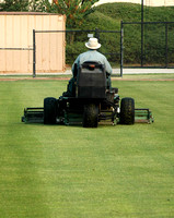 Mowing On the Youth Ballfield