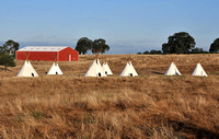 Clements Road Teepees